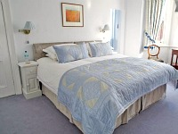 A typical double room at Wandsworth B&B