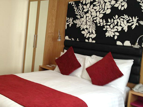 A double room at Astors Hotel is perfect for a couple