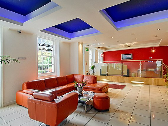 Common areas at Shaftesbury Metropolis London Hyde Park