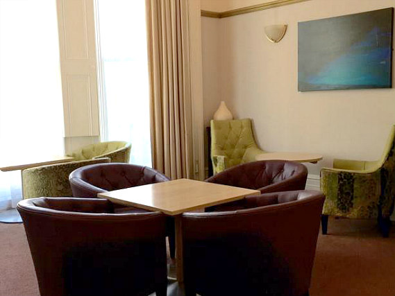 Relax in a communal area at Bluebells Hotel