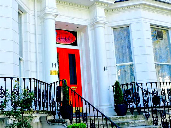 Bluebells Hotel is situated in a prime location in Notting Hill Gate close to Notting Hill Gate Tube Station