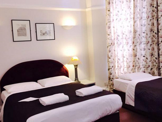 Triple rooms at Bluebells Hotel are the ideal choice for groups of friends or families