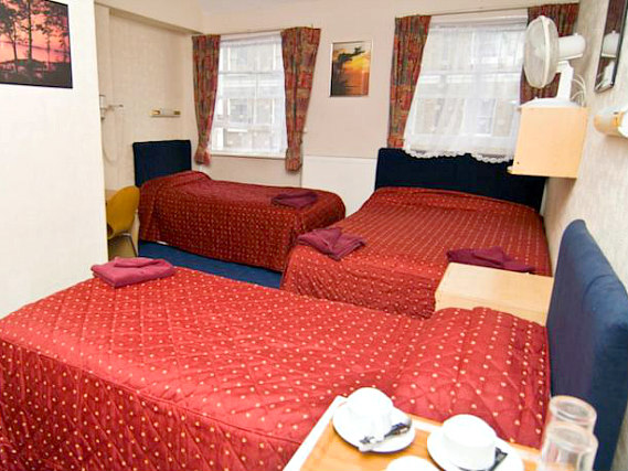 Quad rooms at Boston Court Hotel are the ideal choice for groups of friends or families