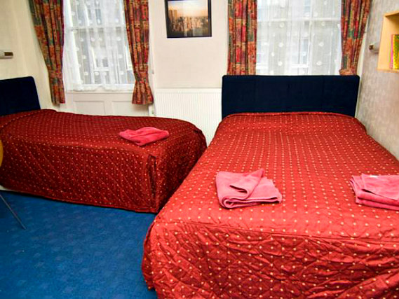 Triple rooms at Boston Court Hotel are the ideal choice for groups of friends or families