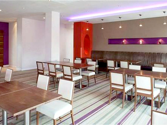 A place to eat at Holiday Inn Express London Newbury Park