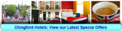 Chingford Hotels: Book from only £13.75 per person!