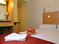 A Typical Double Room at Boulevard Hotel