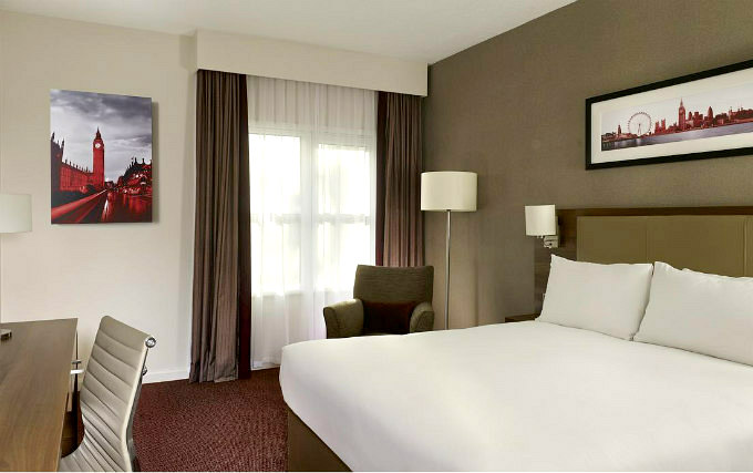 Double Room at DoubleTree by Hilton London Angel Kings Cross
