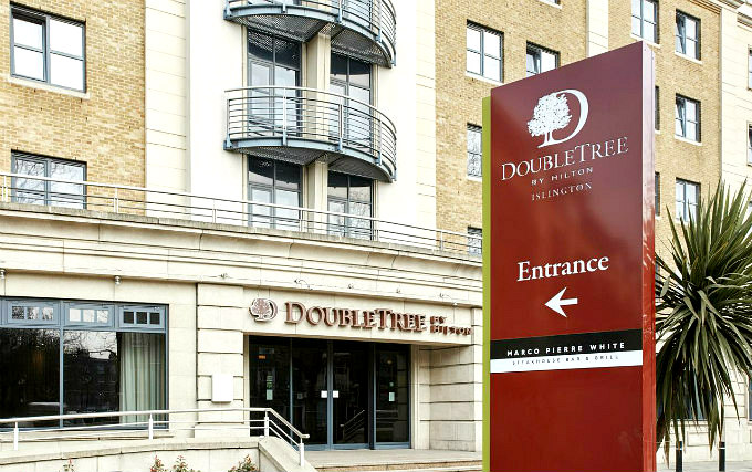 An exterior view of DoubleTree by Hilton London Angel Kings Cross