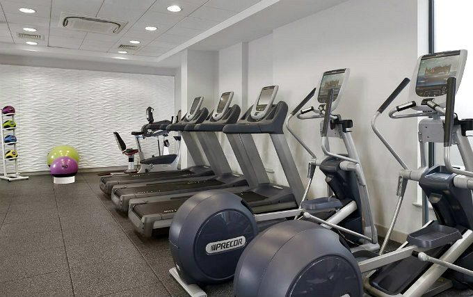 Gym at DoubleTree by Hilton London Angel Kings Cross