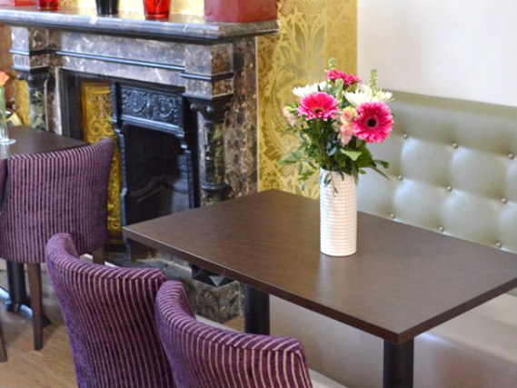 A place to eat at Lexham Gardens Hotel