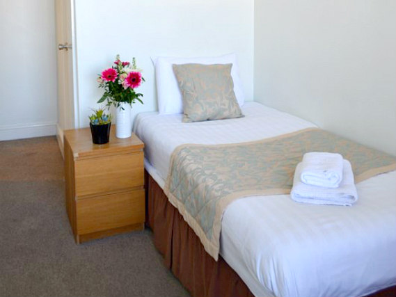 Single rooms at Lexham Gardens Hotel provide privacy