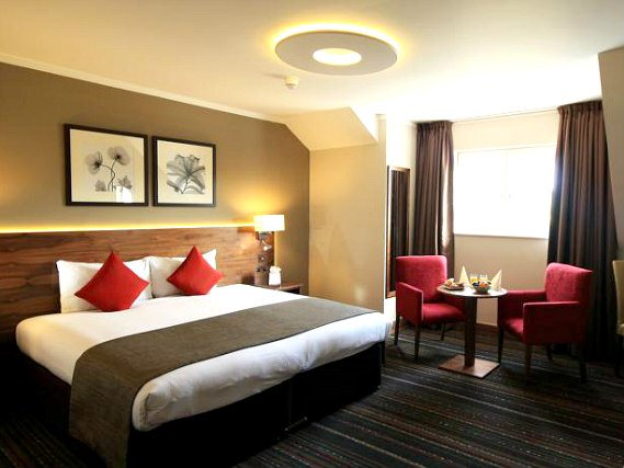 A double room at Best Western Palm Hotel London is perfect for a couple