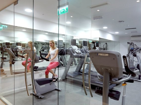 Comfortable gym at Best Western Palm Hotel London