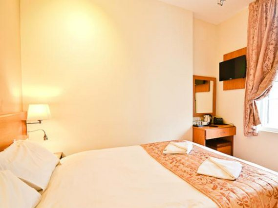 Sleep Sweet and Dream well in this modern comfortable double room