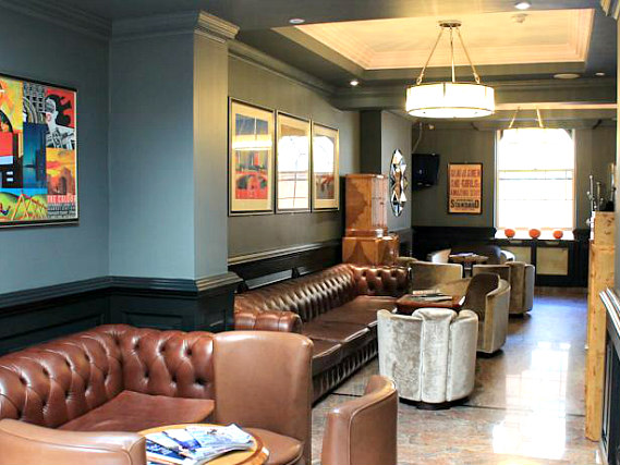 Common areas at California Hotel London