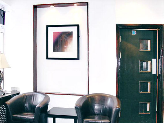 A communal area at King Solomon Hotel London
