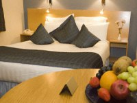A double room at Paddington Court Hotel London