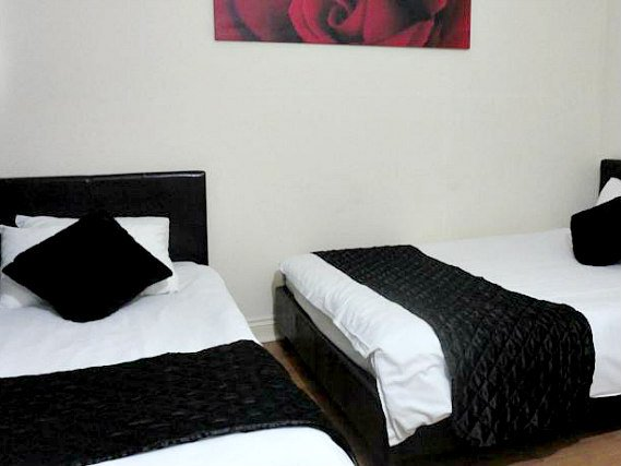 Triple rooms at City View Hotel Roman Road Market are the ideal choice for groups of friends or families