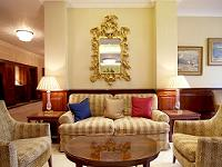 The welcoming lobby at Westbury Hotel