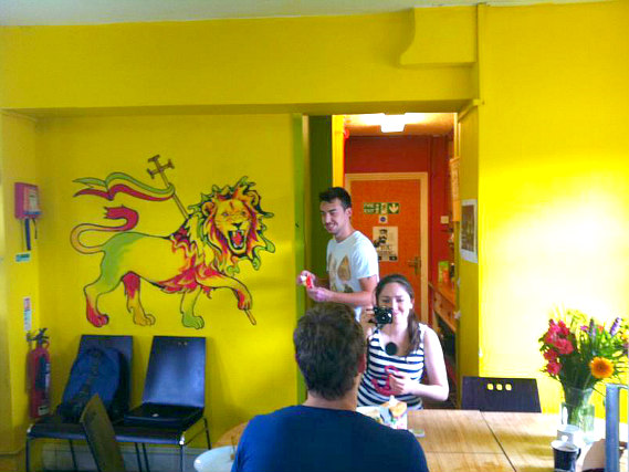 Common areas at Hootananny Hostel