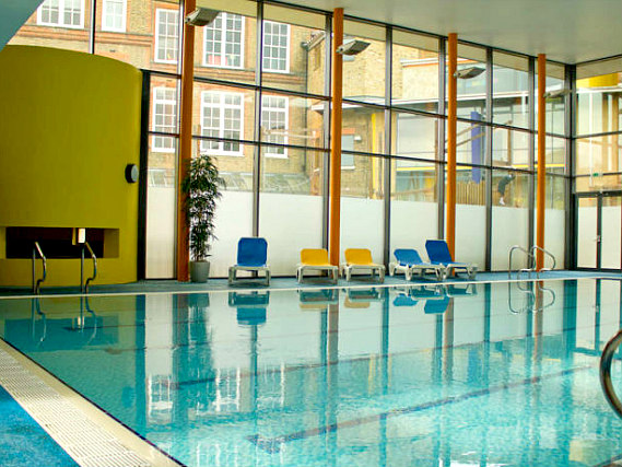 Unwind after a busy day exploring London in the Horizons Accommodation pool