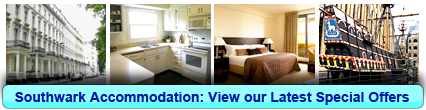 Accommodation in Southwark, London