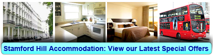 Accommodation in Stamford Hill, London
