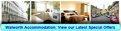 Accommodation in Walworth, London