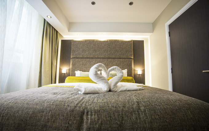 A double room at Mornington Hotel London Victoria