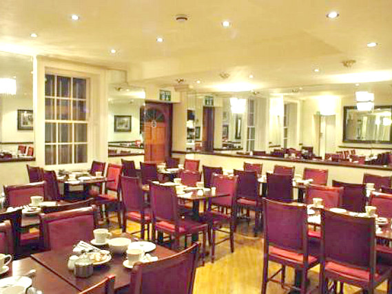 A place to eat at Linden House Hotel