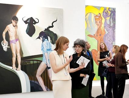 Frieze Art Fair at Regents Park