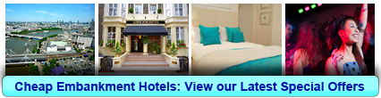 Cheap Hotels in Embankment, London