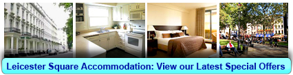 Accommodation in Leicester Square, London