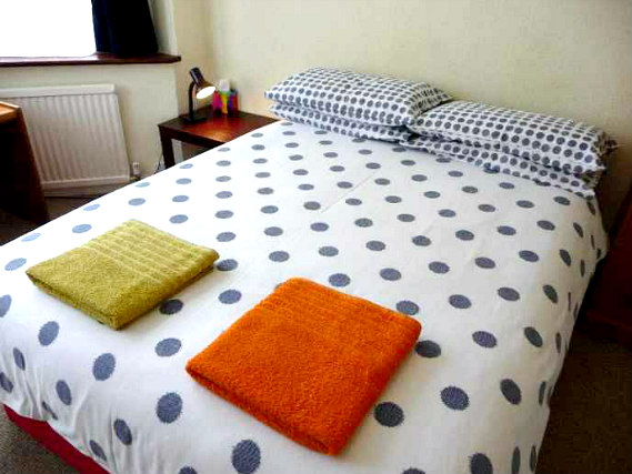 A double room is perfect for a couple