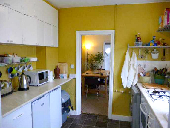 Shared kitchen facilities available