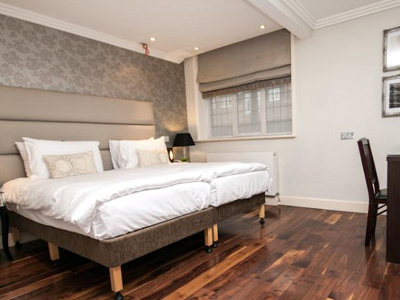 All rooms at The Pillar Hotel London are comfortable and clean