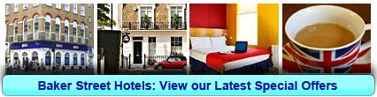 Baker Street Hotels: Book from only £19.00 per person!