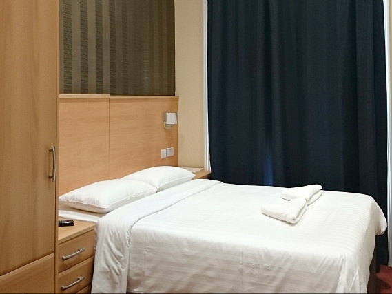 A double room at Mina House Hotel London