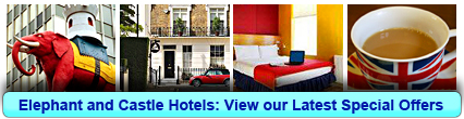 Elephant and Castle Hotels: Book from only £12.50 per person!