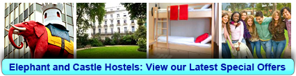 Hostels in Elephant and Castle