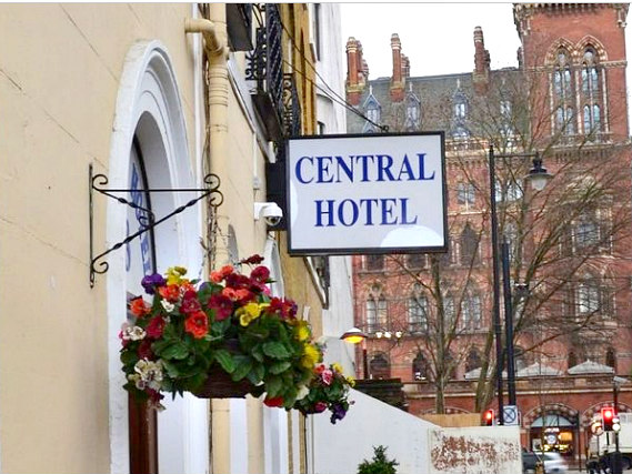 An exterior view of Central Hotel London