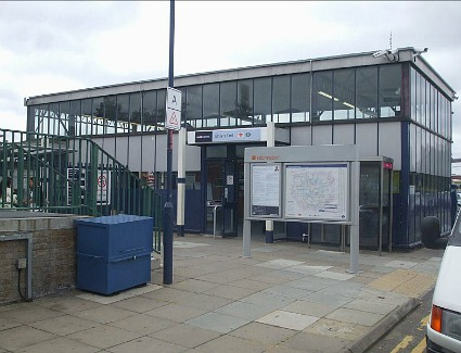 Elmers End Train Station, London