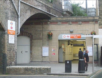 Kentish Town West Train Station, London
