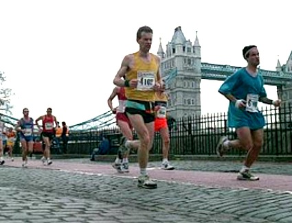 Book a hotel near London Marathon 2013