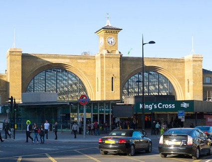 London Kings Cross Train Station, London