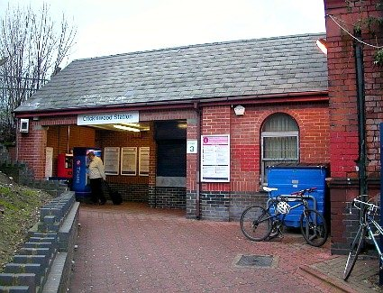Cricklewood Train Station, London