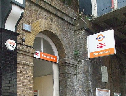 Brondesbury Train Station, London
