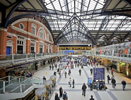 Liverpool Street Train Station, London