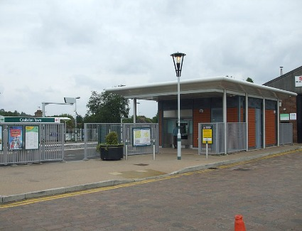 Coulsdon Town Train Station, London